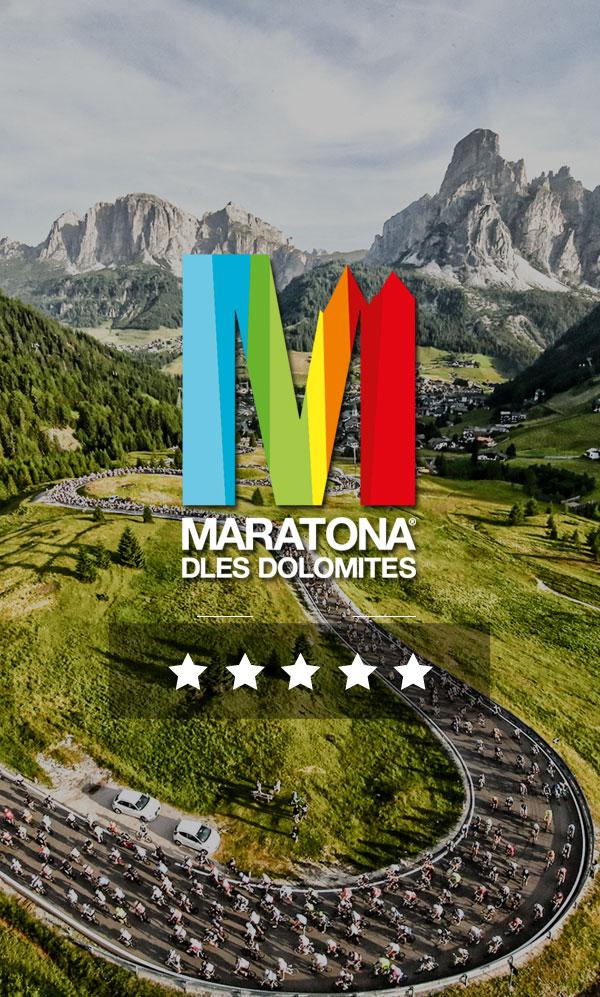 Best 5-Star Maratona dles Dolomites, package - Vélo Monaco