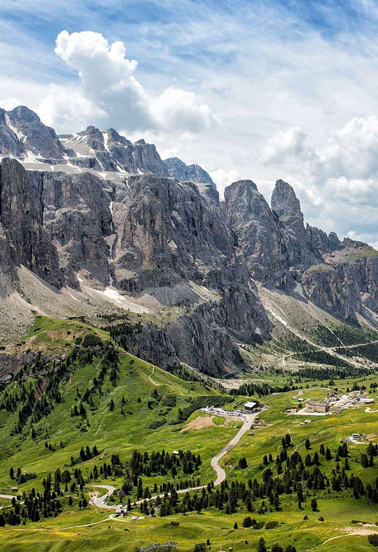 Region Feature Dolomites